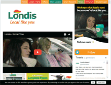 Tablet Preview of londis.ie